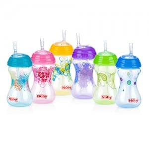 NO SPILL CLICK IT STRAW CUP 10 OZ Image