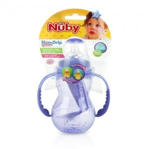 7OZ NON-DRIP STD NECK BOTTLE WITH HANDLES Image