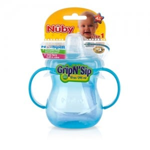 HANDLE CUP WITH SILICONE NIPPLE 10 OZ Image