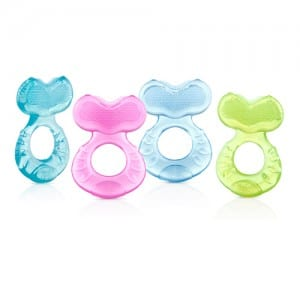 SILICONE TEETHER W BRISTLES Image