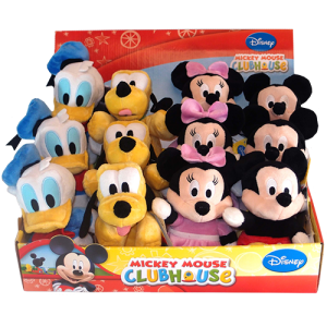4 Assorted Mickey Mouse Clubhouse Plush Image
