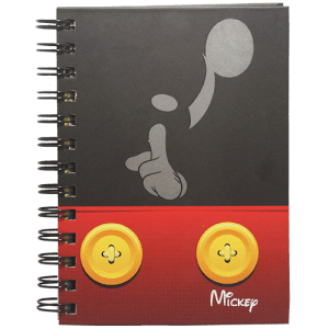 Mickey Spiral Diary Image