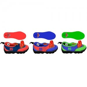 Cars Beach Shoes Image