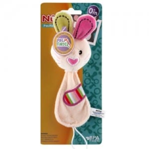 PLUSH PACIFINDER WITH CLIP Image