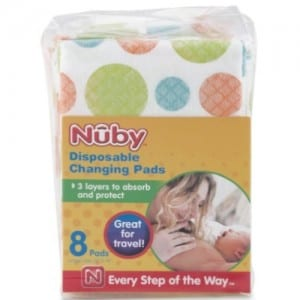 DISPOSABLE CHANGING PADS Image