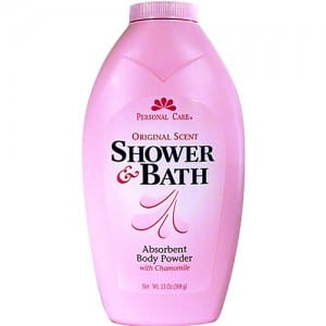 SHOWER & BATH BODY POWDER Image