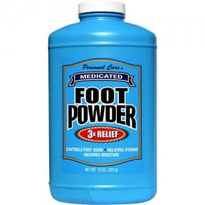 MEDICATED FOOT POWDER Image