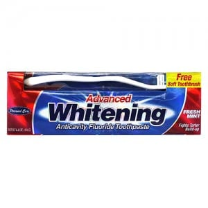ADVANCED WHITENING TOOTHPASTE Image