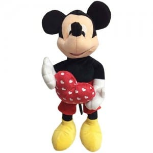 "Mickey Mouse 14"" Plush Image"