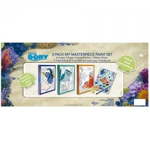 Finding Dory 3-Pack My Masterpiece Paint Set Image