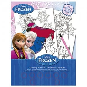 Frozen Colouring Paint Set Image