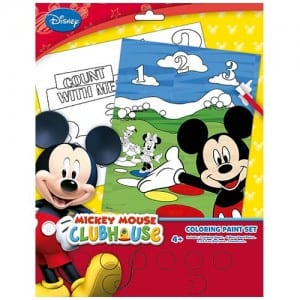 Mickey Mouse Colouring Paint Set Image