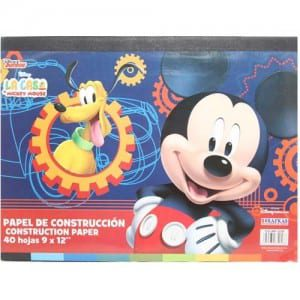 Mickey Mouse Construction Paper Image