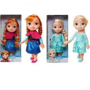 "Frozen 13"" Toddler Anna or Elsa Image"