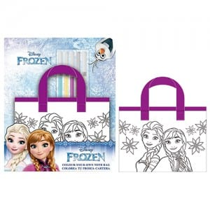Frozen Colour Your Own Tote Bag Image