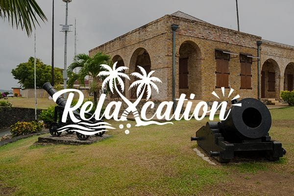 5 Caribbean Forts to Visit with Relaxcation